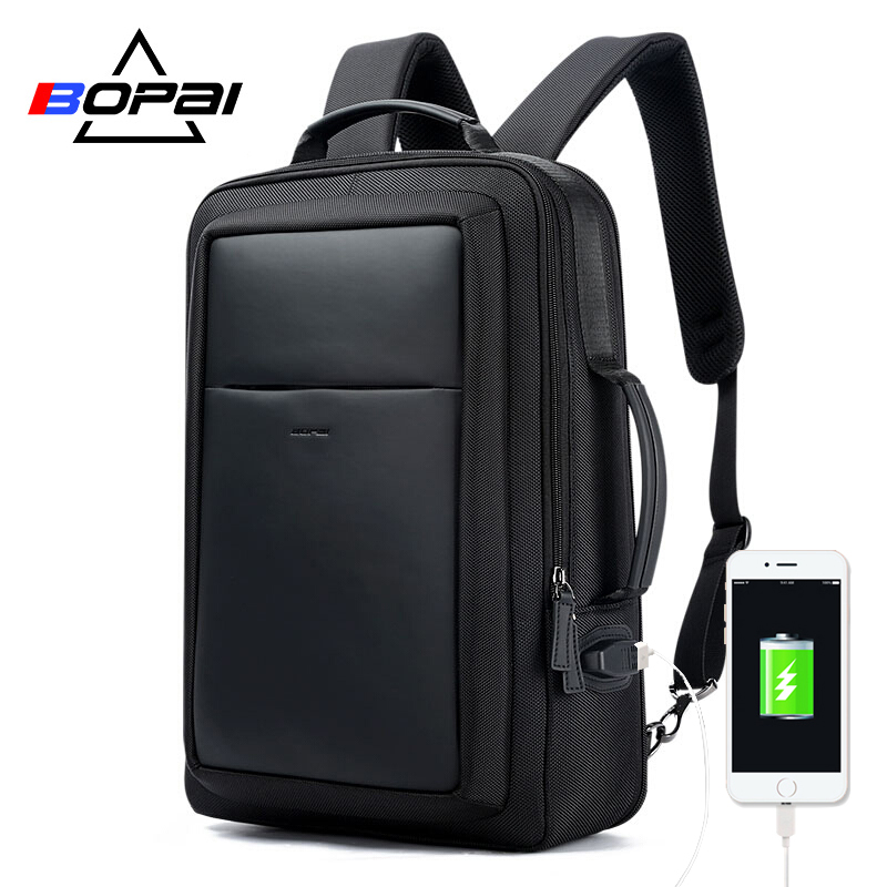7df8a1df16b7 BOPAI New Designer Backpacks for Men Large Capacity Back bag for Man  Fashion Business Travelling Laptop Backpack 15.6 Inch