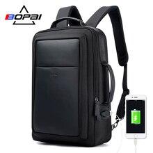 BOPAI New Designer Backpacks for Men Large Capacity Back bag for Man Fashion Business Travelling Laptop Backpack 15.6 Inch цена в Москве и Питере
