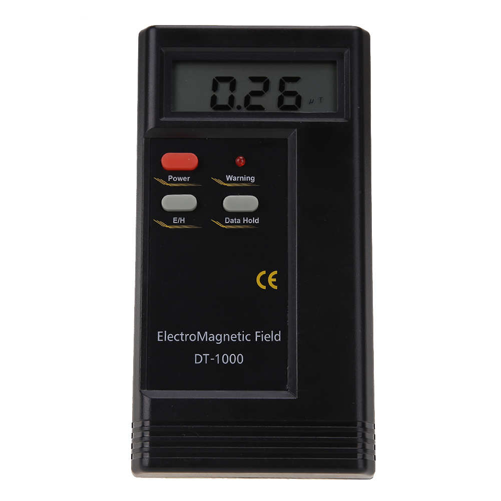 Professional Digital LCD Electromagnetic Radiation Detector EMF Multi-Meter Dosimeter Tester  цены