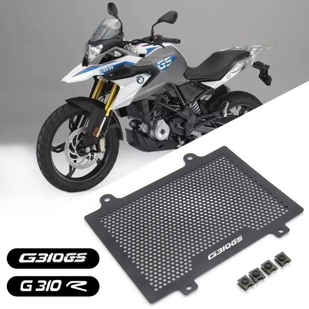 2019Motorcycle parts Aluminum Radiator Grille Guard Cover Protector For BMW G310R G310 <font><b>R</b></font> <font><b>G</b></font> <font><b>310</b></font> <font><b>R</b></font> G310GS G310 GS 2017-2018 image