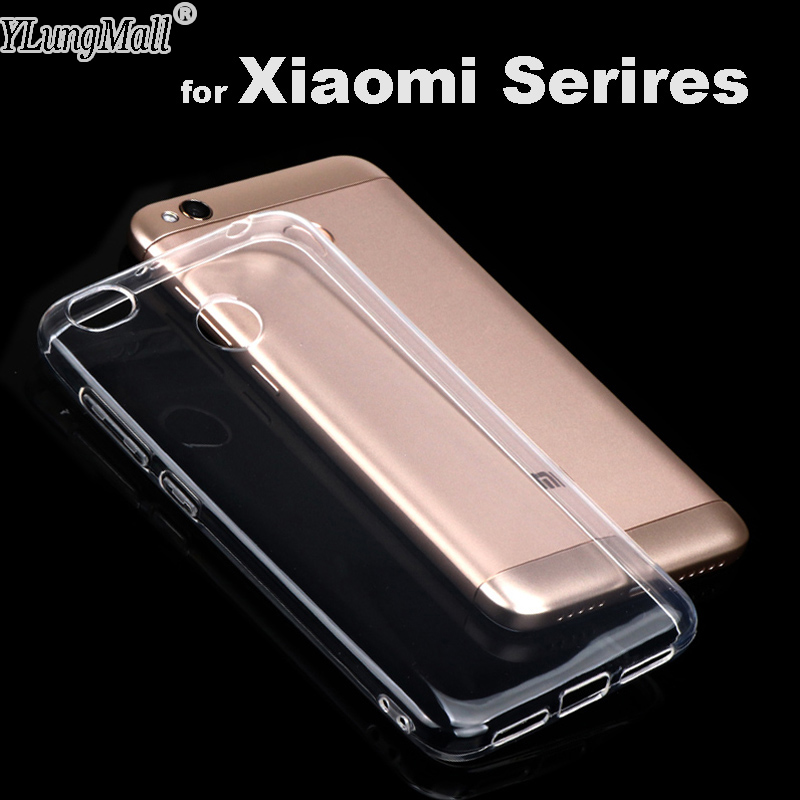 YLMall Clear TPU Phone Case for Xiaomi Redmi Note 4X 4 3 5a Pro Prime 3s