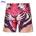 2016 New Hot 3D beach shorts Men Thin shorts Good Casual Quick-drying Tiger Digital Printing Two Layer Size S-XXL