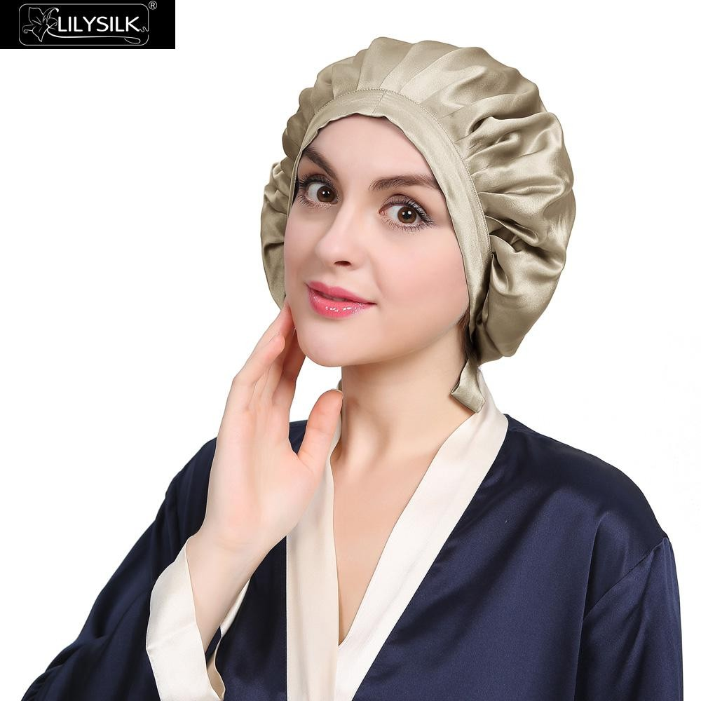 1000-taupe-silk-sleeping-cap-concise-style-01