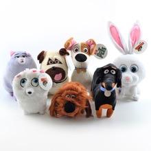 New Movie The Secret Life Of Pets Plush Toys Max Snowball Gidget Mel Chloe Buddy Animals Cartoon Doll Stuffed Toy Gift