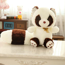 2016 new children's plush toys birthday gift lovely long tail a raccoon bear doll free shipping m1163