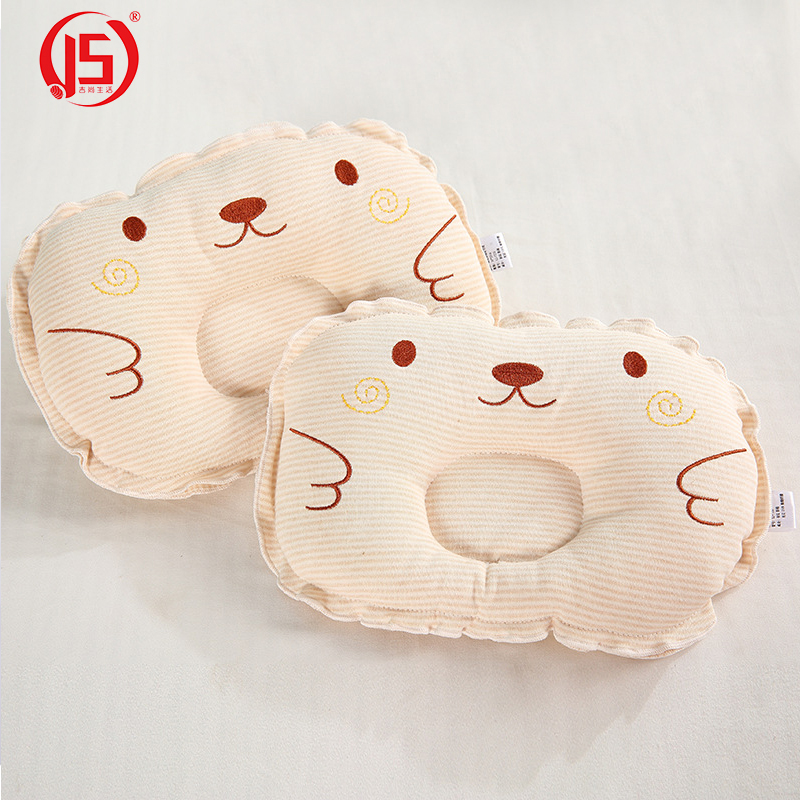Js Soft Baby Pillow Infant Memory Pillow To Prevent Flat