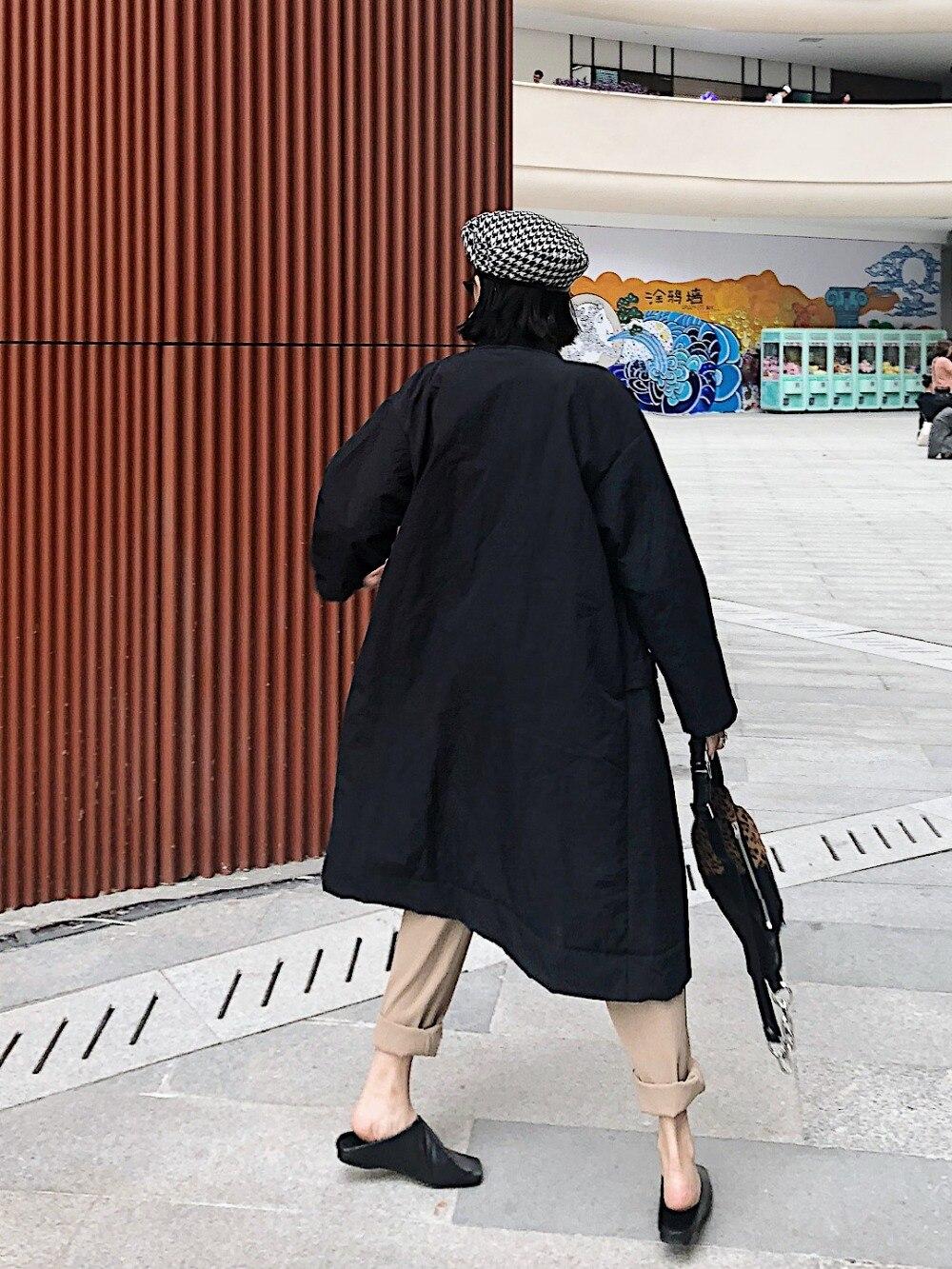 Pur Coton Splice Manteau Costume Étudiant army Rue Noir Couleur Épais Pocket Et Green Long Col Chaud Harbin Bf Hiver Vestes 5ZqXnqOw
