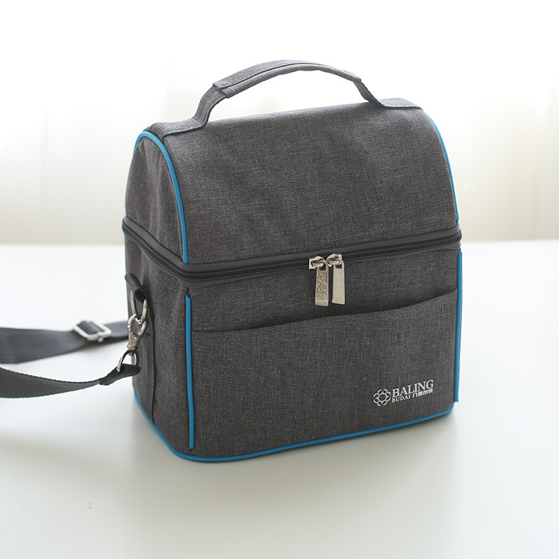 New Fashion Oxford Cloth Food Thermal Bag Thermo Lunch Bag For Kids Women Or Men Large Capacity Insulated Picnic Bag Box