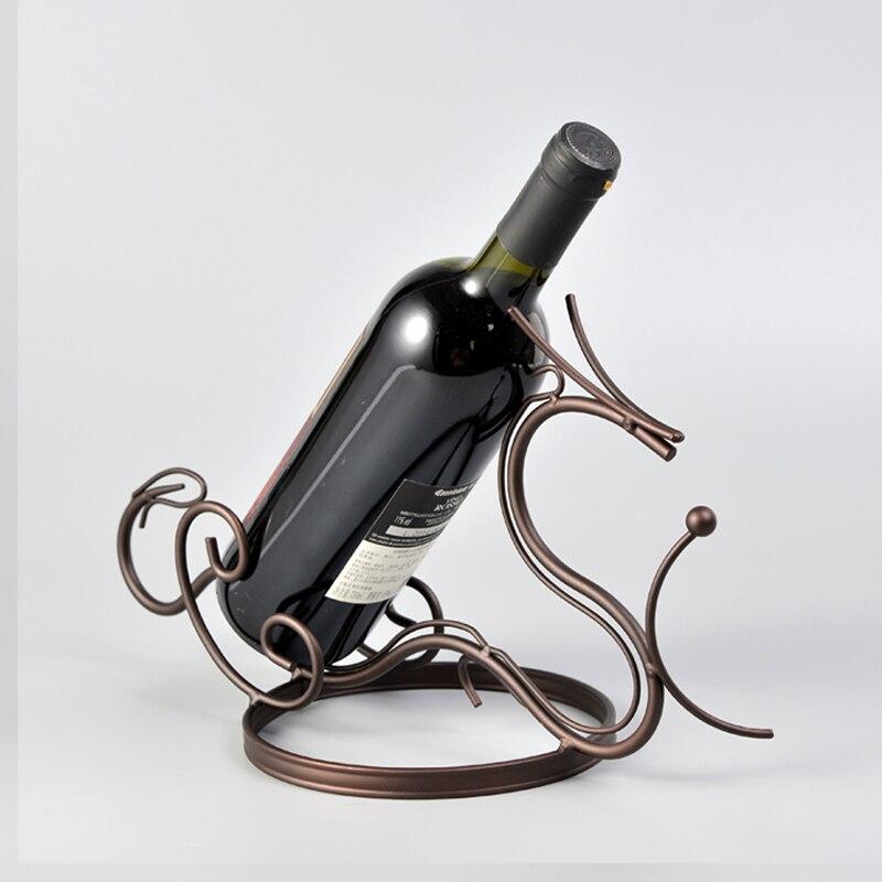 Cadre à vin créatif porte-verre à vin domestique Style Dragon porte-vin support de bouteille de vin suspendu