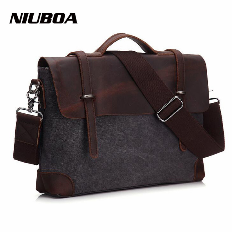 NIUBOA Fashion Retro Woman Men Messenger Bags High Quality Thick Cotton Canvas Add Leather Unisex Casual Crossbody Shoulder BagsNIUBOA Fashion Retro Woman Men Messenger Bags High Quality Thick Cotton Canvas Add Leather Unisex Casual Crossbody Shoulder Bags
