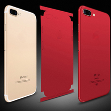 Durable PVC Phone Stickers For iPhone 8 6 6S 7 Plus Back Protector Films Decal For iPhone XS X Sticker Adhesive Pegatinas Skin us flag pattern decorative pvc back protector sticker for iphone 6 plus 5 5 red deep blue