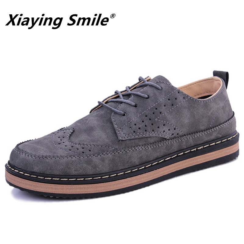 Shoes Men Oxford Loafers Breathable 2018 Fashion hot sale Handmade Leather Shoes Working men's moccasins Mens Shoes Casual