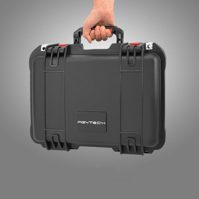 PGYTECH Explosion Proof box for DJI MAVIC Pro Suitcase Travel transport portable Storage Case Bag for DJI MAVIC Pro Safebox rcyago safety shipping travel hardshell case suitcase for dji goggles vr glasses storage bag box for dji spark drone accessories