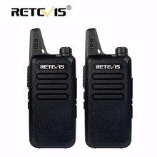 2 шт. мини Двухканальные рации Retevis rt22 2 Вт 16ch UHF VOX сканирование Портативный ham Радио КВ трансивер CB Радио Communicator портативной рации