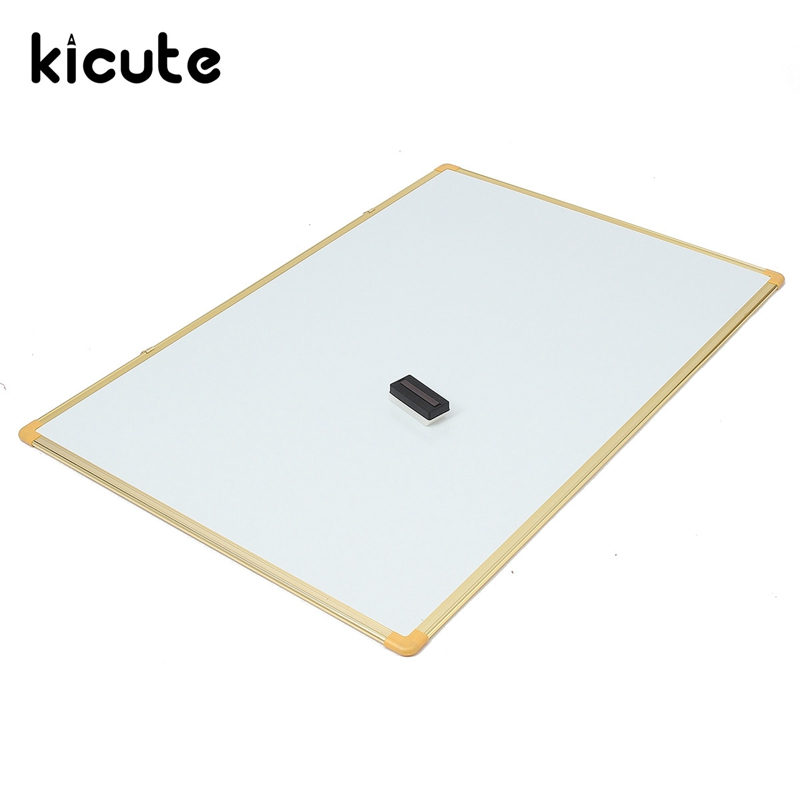Kicute 1pcs Lrge Size 800mm*1200mm Double Side Writing Whiteboard Notice Memo Board Dry Erase Board and Magnetic Dry Wip kitcyo575001pac104159 value kit crayola air dry clay cyo575001 and pacon four ply poster board pac104159