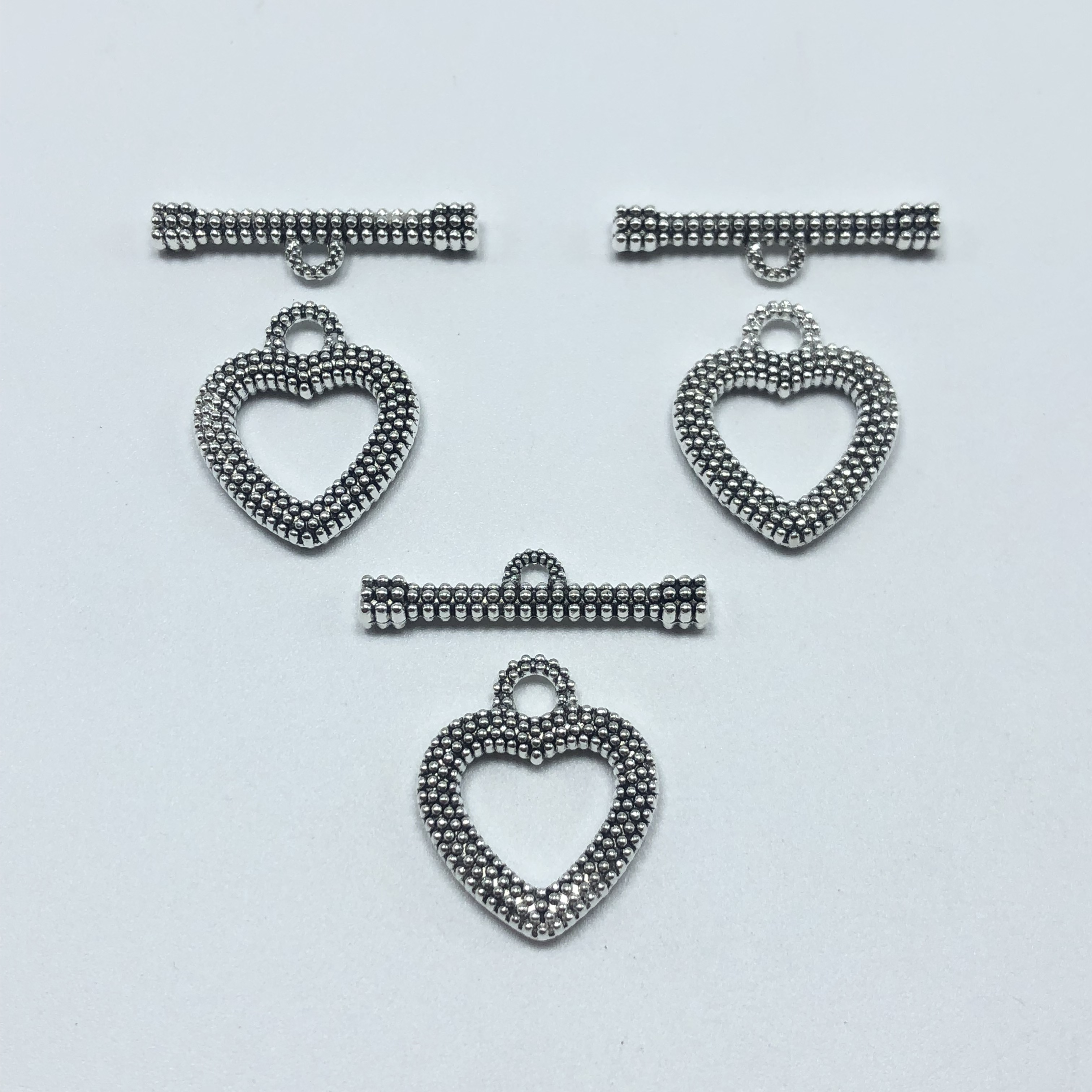 10pcs Fashion Antique silver Color OT Toggle Buckle Connectors Fit Bracelet Necklace Clasps DIY Jewelry Findings Accessories in Jewelry Findings Components from Jewelry Accessories
