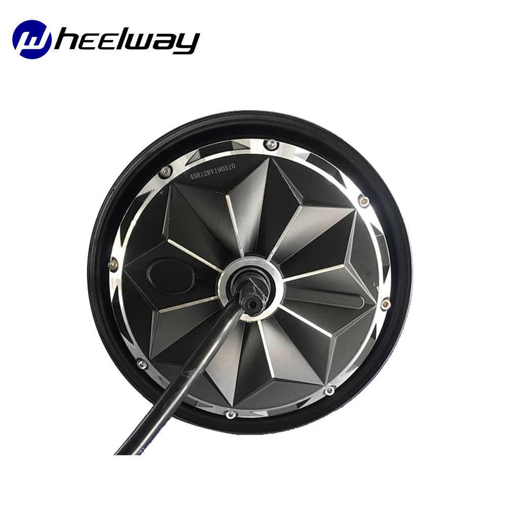 10 pouces Hub moteur simple ligne 60 V/72 V/96 V 3000W 55 disque en acier magnétique/frein à tambour sans engrenage électrique moteur de moyeu de vélo
