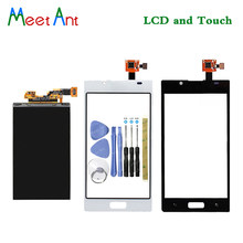 New High Quality 4.3'' For LG Optimus L7 P700 P705 Lcd Display With Touch Screen Digitizer Sensor(China)