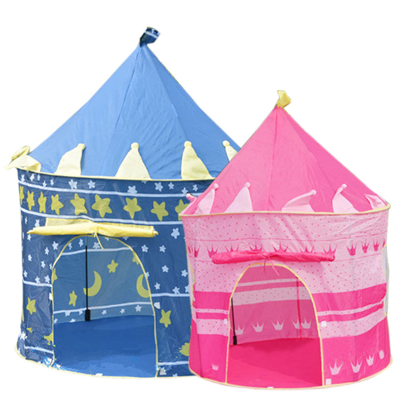 Children Beach Tent Toy Baby Toy Play Game House Kids Princess Prince Castle Indoor Outdoor Toys Tents Gifts -17