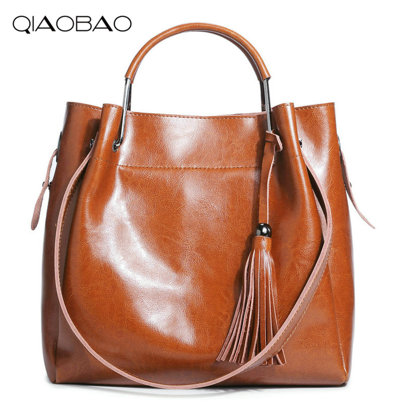 QIAOBAO Luxury Handbags Women Bags Designer Famous Brands Genuine Leather Bag Female Crossbody Messenger Shoulder Bag Tote Bag chains genuine leather shoulder bags vintage for women famous luxury brands designer style crossbody messenger bag