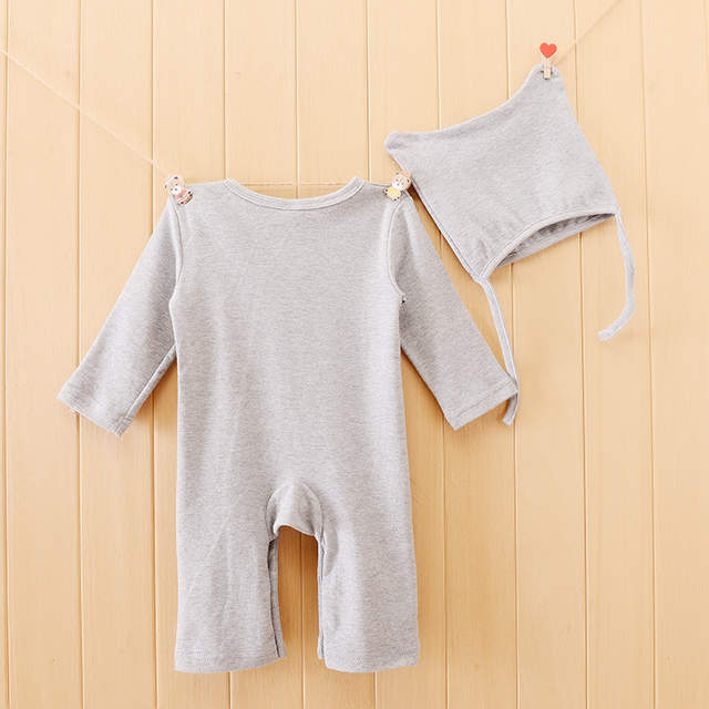 78bb1db1aae Retail Newborn Baby Boy Clothes Cute Totoro Rompers 1PCS Baby Unisex Romper  Infant Boys Girls Long