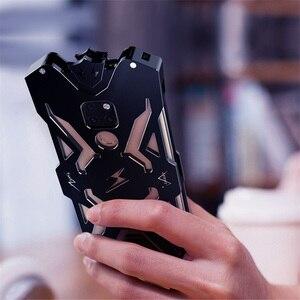 Image 2 - Huawei 친구 20 프로 원래 Zimon 알루미늄 전화 케이스에 대 한 럭셔리 Shockproof 금속 케이스 Huawei 친구 20/친구 20 x