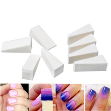 8pcs Salon Nail Sponges for Acrylic Makeup Manicure Nail Art Accessory