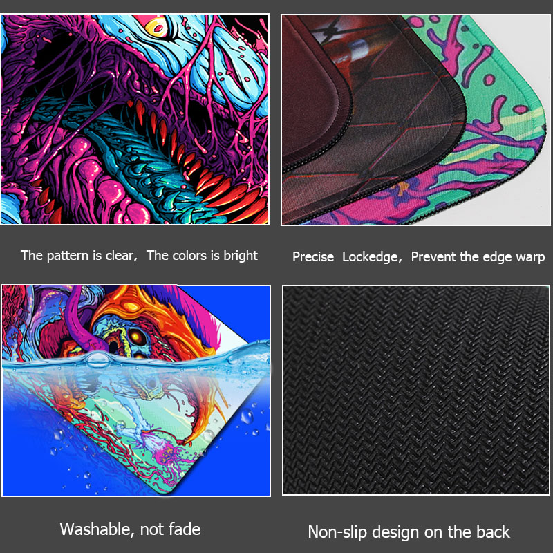 bddb46167cc Gaming Mouse Pad XL Large 900*400 Locking edge Rubber Mousepad Gamer CS Go  Hyper Beast Mouse Mat Wrist Rest for Computer Laptop -in Mouse Pads from  Computer ...