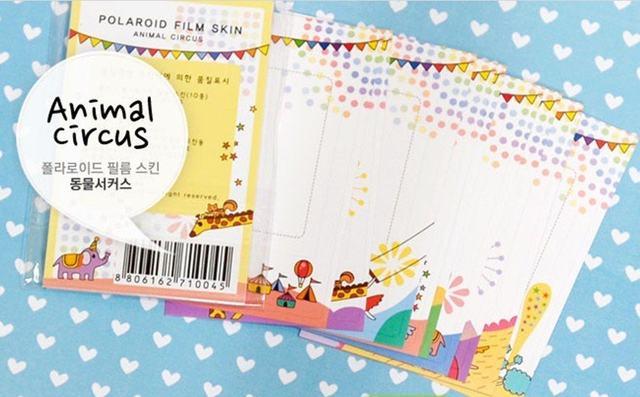 Online Shop 10 pcs/set New cute polaroid circus photo frame sticker ...