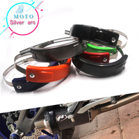For BMW R1200GS 2004 2012 R1200R 2009 2013 Motorcycle Accessories Universal Fit 100MM 140MM Oval Exhaust