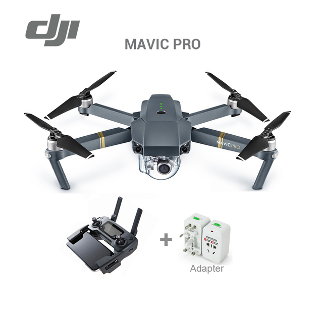 In magazzino 2017 originale DJI Mavic pro drone con 4 K video 1080 p macchina fotografica rc helicopter Freeshipping