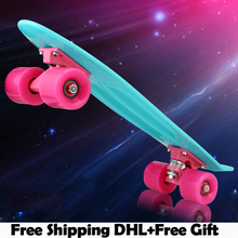 Skateboards peny cruiser longboard skate skateboard green board original mini quality