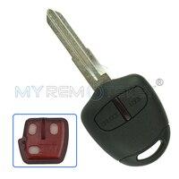 Remote Car Key For 2006 2015 Mitsubishi Outlander ASX 2 Button MIT11R Profile 433mhz With ID46