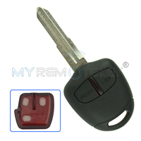 Remote Car Key For 2006 2015 Mitsubishi Outlander ASX 2 Button MIT11R Profile 433mhz With ID46