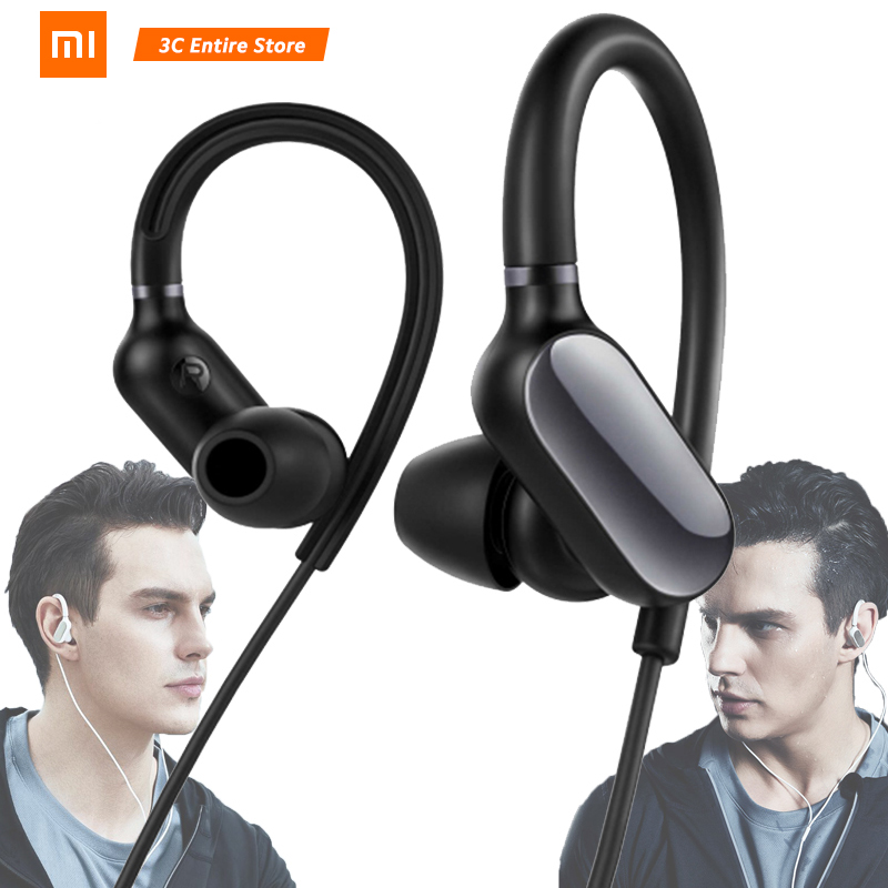 Original Xiaomi Mi Sports Headset Mini Bluetooth 4 1 Wireless With Microphone Mic Waterproof Earphone For