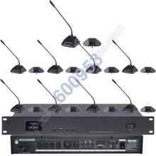 MICWL Pro Discussing Wired Conference Microphone System 1 Host 1 President 16 Guests Classical MIC for Meeting Room zixuan pro 1 host 1 chairman 17 delegate high end wired conference microphone system classical mic for meeting room