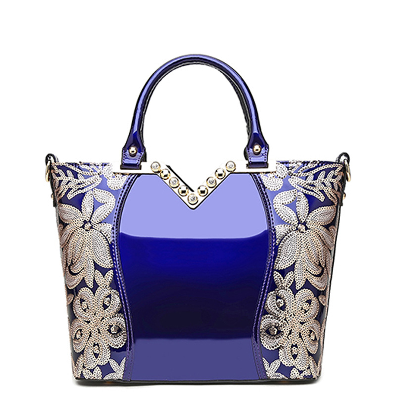 2019 New Arrival European Luxury Evening Girl Party Women Leather Handbag Embroidery Female Shoulder Purses Handbag Sequins Tote2019 New Arrival European Luxury Evening Girl Party Women Leather Handbag Embroidery Female Shoulder Purses Handbag Sequins Tote