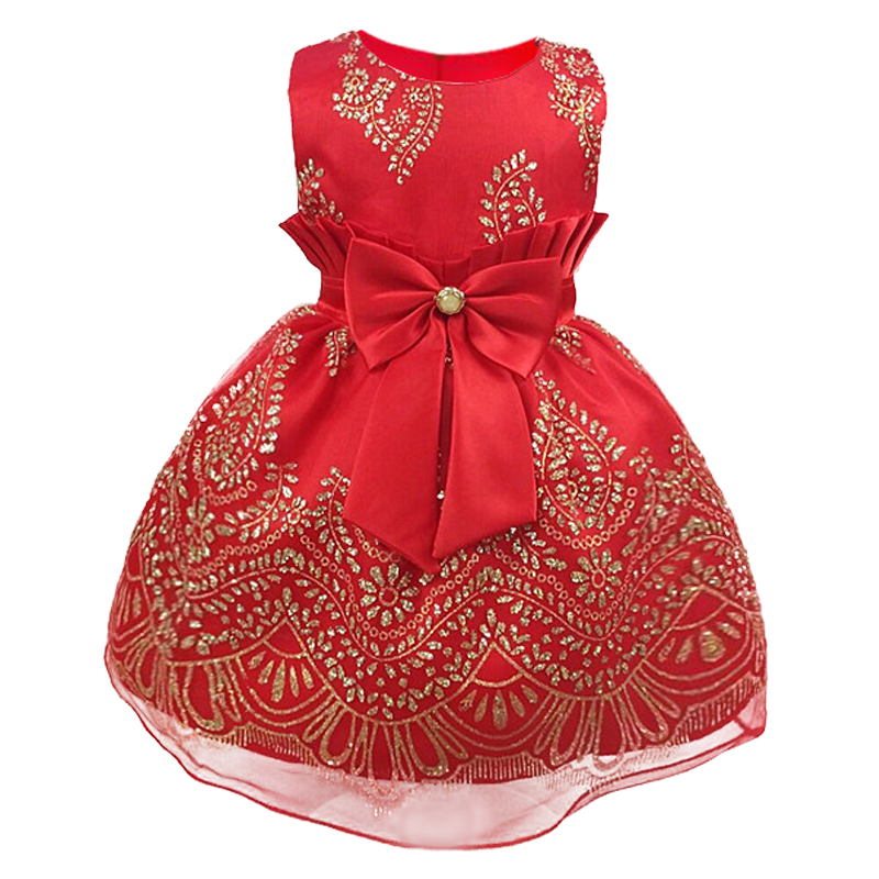 Baby Girl Princess Dress 1-6 Years Kids Sleeveless Embroidered princess Dresses for Toddler Girl Children Fashion Clothing baby girl princess dress kids stripe sleeveless dresses for toddler girl children european american fashion clothing free belt