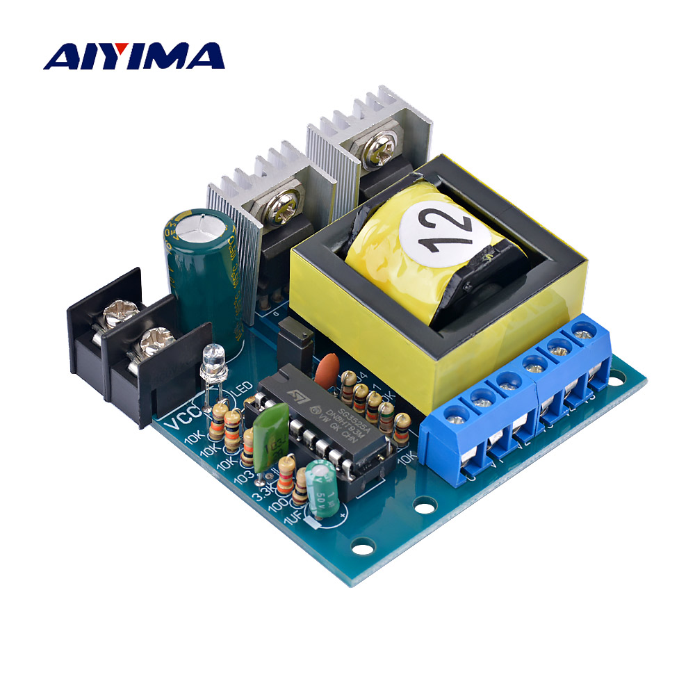 1pcs DC-AC 150W Miniature Inverter DC12V To AC220V 110V Step-up Transformer Converter Power Boost Module1pcs DC-AC 150W Miniature Inverter DC12V To AC220V 110V Step-up Transformer Converter Power Boost Module