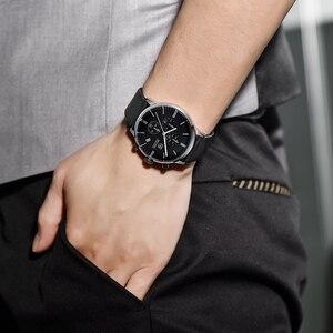 Image 3 - ساعات يد جديدة من Benyar للرجال متعددة الوظائف ساعات يد رجالي من أفضل الماركات الفاخرة ساعة رجالي رياضية كوارتز كرونوغراف للرجال