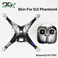 2016 NEW PGY DJI Phantom 4 3M Waterproof Stickers Skin PVC phantom4 professional Quadcopter Drone parts accessories