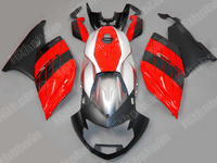 Injection molding fairings for BMW K1200S 05 06 07 08 red silver black motorcycle fairing kit K1200S 2005 2008 ZN40
