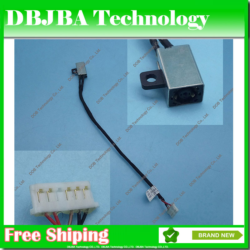 Genuine Original AC DC Power Jack Cable Connector For Dell Inspiron 15 3552 3558 i3558-9136 Ryx4j