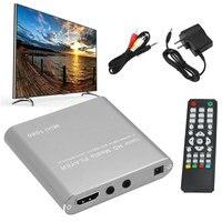 1080P Media Host Mini MMC Home Audio USB Smooth Decoding MKV AVI Lightweight Full HD HDD Player Memory Card Read AV HDMI