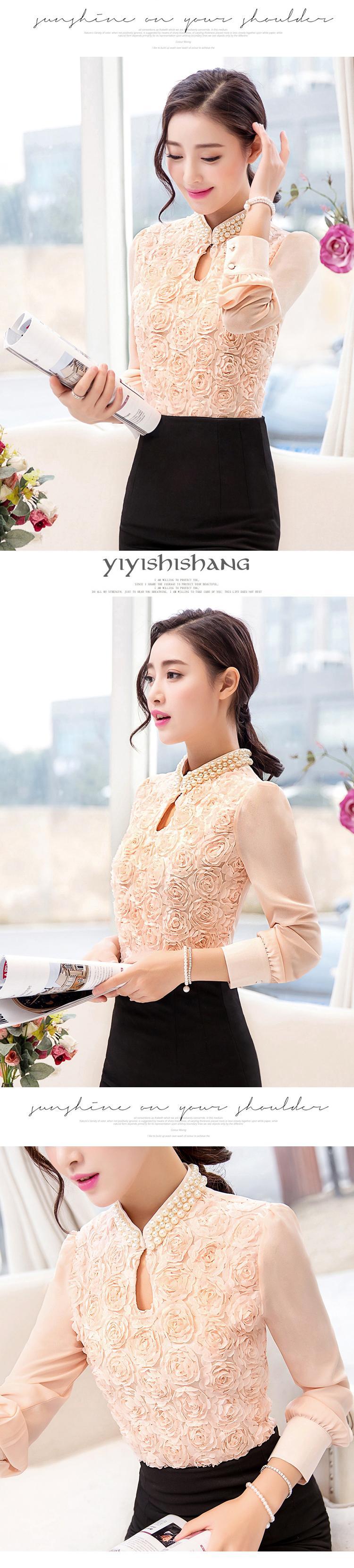 HTB177f7LFXXXXb5XVXXq6xXFXXXE - New Women Chiffon blouse Flower long sleeved Casual shirt