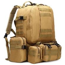 2017 Hombres Y Mujeres Mochila Digital Tacticals Combinación Mochila Bolsas de Viaje Mochila de Escalada Al Aire Libre Militar S141