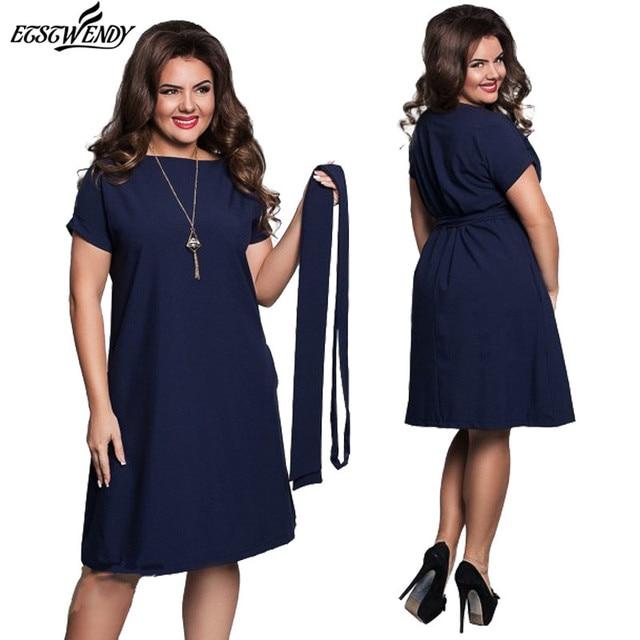 4345059daf 5XL 6XL Large Size Elegance Fashion Summer Dress 2018 Club Party Dresses  for Women Plus Size O-Neck Casual Women Dress Vestidos