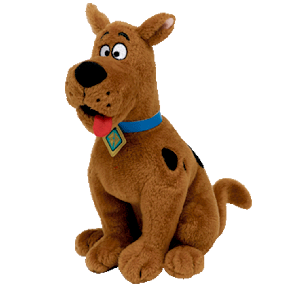 Pyoopeo Toy Heart-Tag Soft-Doll Animal-Collection Stuffed Scooby-Doo Dog Plush Babies