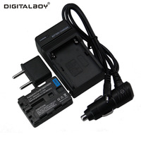 TianFen Hot Sale 1pcs Battery Charger NP FM50 NP FM50 Rechargeable Camera Battery For Sony Free