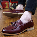 Factory Wholesale Top Fashion Oxford Shoes Retro England Carved Tassels Men Shoes Business Leather Shoes